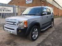 L/ROVER DISCOVERY 3 2.7 TDV6 HSE 7 SEATER DIESEL AUTOMATIC LEATHER