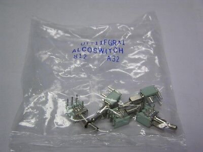 Alcoswitch Utt11fgra1 Spdt Pcv Momentary On Noneon Tiny Toggle Switches