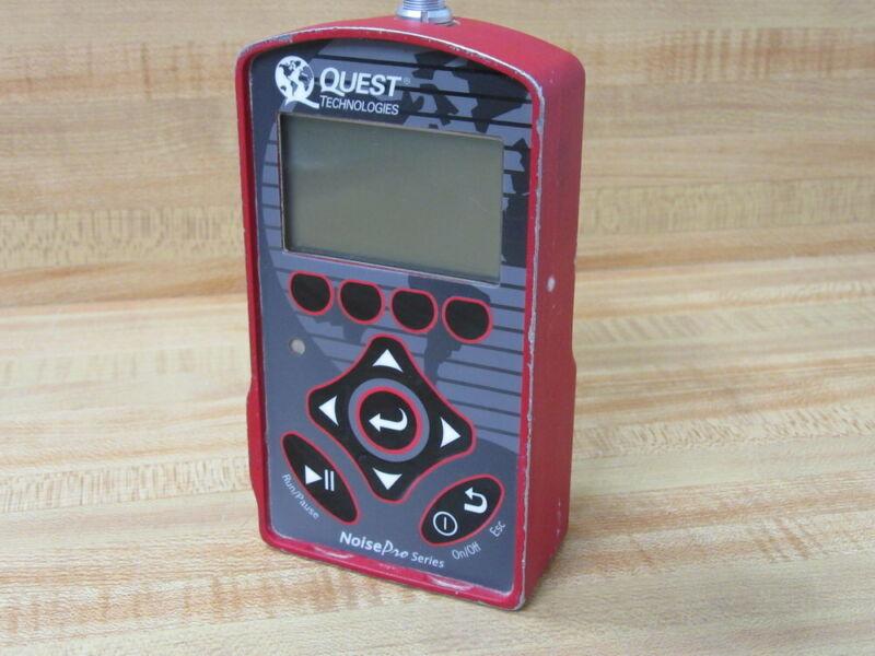Quest NoisePro DL Dosimeter Noise Pro NoiseProDLDosimeter