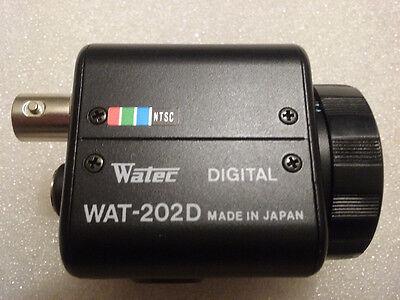 WATEC WAT-202D NTSC DIGITAL CCD COLOR SURVEILLANCE CAMERA (BODY ONLY)