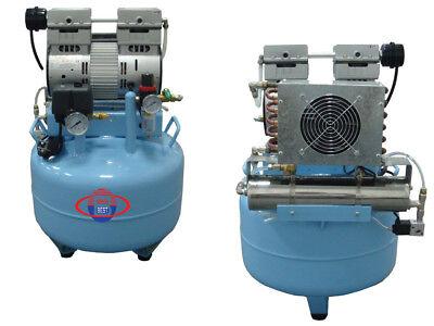 New Best-unit Dental Silent Oilless Air Compressor BD-201D Dryer JY