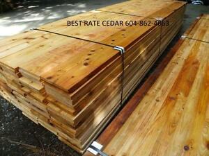 Cedar siding / decking soffit dog house