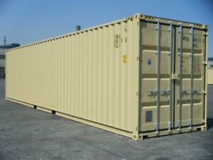 Sea containers new and used for sale