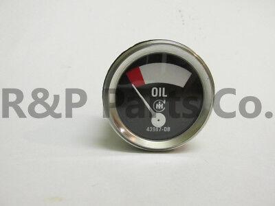 Oil Gauge For Farmall H M I O W4-9 T6 Cih 1939 - 1946 Early
