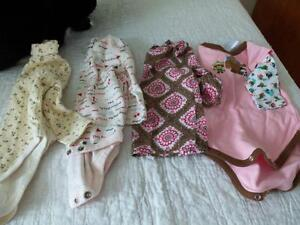 lot #4 baby girl clothes 6-12 months