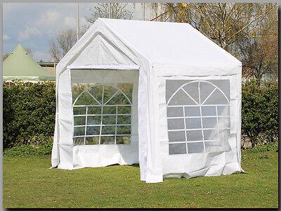 Partyzelt Festzelt Pavillon PE 3x2m 2x3m Marktstand Gartenzelt Zelt Verkaufszelt