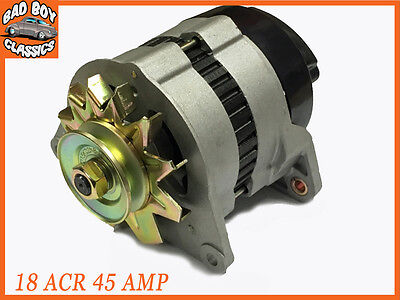 Brand New 18ACR 45 Amp Alternator Pulley  Fan MGB MG MIDGET