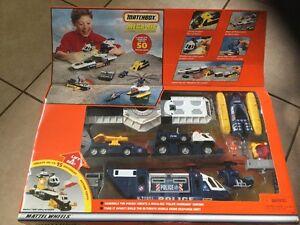 Matchbox Police Command Centre Mega-rig Brand New Mattel Wheels Toys