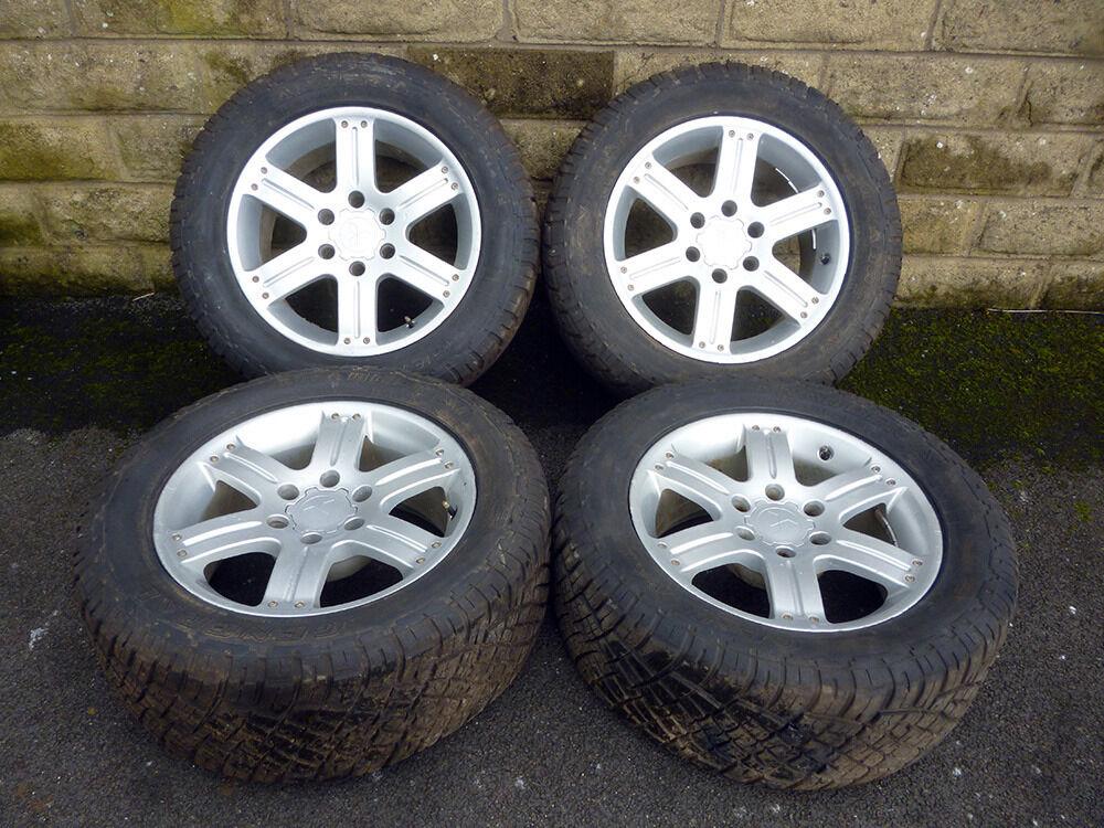 18 Quot Genuine Mitsubishi L200 Warrior Alloy Wheels Tyres