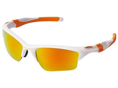 Oakley Half Jacket 2.0 XL Sunglasses OO9154-52 Polished White/Fire (Oakley Half Jacket 2.0 Xl Polarized)