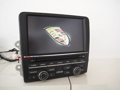 OEM 991 100GB Porsche PCM3.1 CARRERA CAYMAN BOXSTER NAVIGATION RADIO XM 6 DISC
