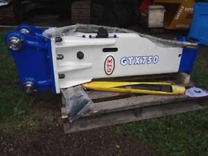 New 6-9 ton GTX750 Hydraulic Rock Breaker Excavator Hammer Pullenvale Brisbane North West Preview