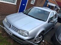 VW GOLF AUTOMATIC, SPARES OR REPAIRS, NEEDS GEARBOX, 53 REG, 85K MILES