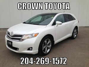 TOYOTA CERTIFIED! 2015 TOYOTA VENZA XLE AWD V6! ONE OWNER, LOCA