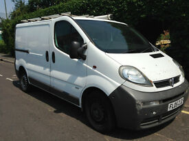 2005 Vauxhall VIVARO 2900 DI SWB LONG MOT READY FOR WORK