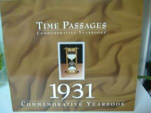 Commemorative Year Books - Great Gift!