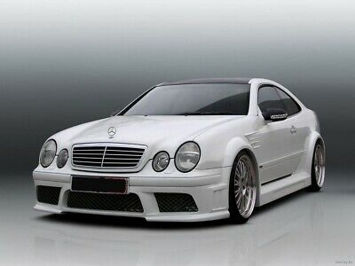 MERCEDES CLK W208 WIDE BODY KIT