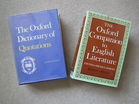 2 Oxford Books on English Literature