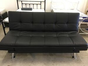 Brand New and Quality PU Leather Sofa Bed Sleeper Clayton Monash Area Preview