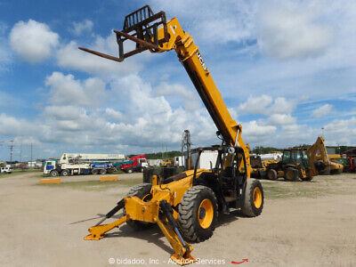 2012 Jcb 512-56 12000lb 56 Telescopic Reach Fork Lift Telehandler Aux Bidadoo