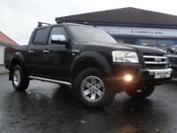2009 Ford Ranger Thunder 2.5D 4x4 Crew Cab Pick Up MOT - 06/07/2018