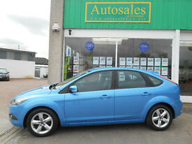 FORD FOCUS ZETEC (blue) 2009