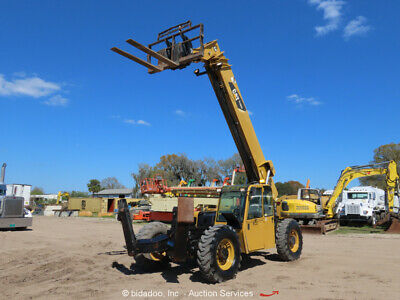 2008 Caterpillar Tl1055 55 1 10000 Lbs Telescopic Reach Forklift Bidadoo