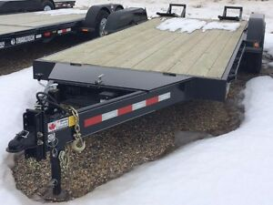 2015 Trailtech L270-18' Equipment Hauler Trailer