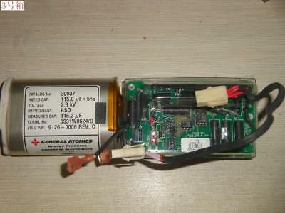 Zoll M Series Cct 9301-0320 Dac Board W Ll High Voltage Capacitor 2.3kv 115 Uf
