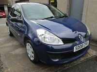 RENAULT CLIO FREEWAY 16V -- PAY AS YOU GO FINANCE AVAILABLE -- (blue) 2008