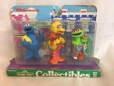 Sesame Street Collectibles Figures Cookie Monster Big Bird Oscar Tyco Preschool