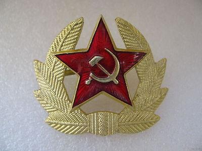 RUSSIAN SOVIET RED ARMY STAR HAT PIN BADGE USSR KOKARDA! NEW!