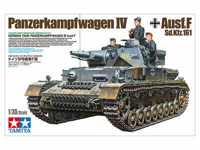 Tamiya 35374 Panzerkampfwagen IV Ausf.F L24/75 mm 1:35 NEU/OVP