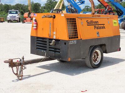 2012 Sullivan Palatek Df375pdj 375 Cfm Towable Air Compressor Bidadoo -repair