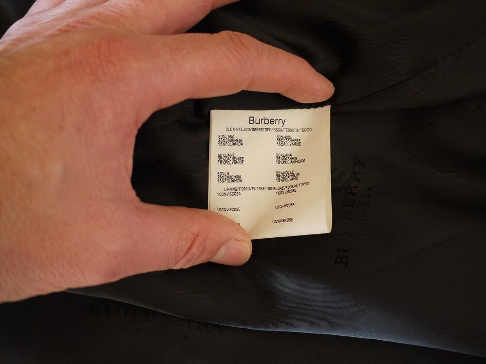 Manteaux homme burberry neuf, jamais servi