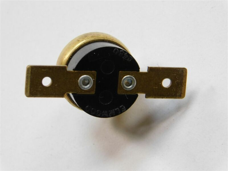 Mil Elmwood Sensors 2450 L185 Normally Closed Open on Rise 185°F Thermostat Stud