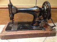 Antique Singer sewing machine- 1891-Great Christmas gift for a Sewing Bee