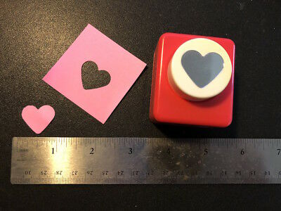 Medium HEART Decorative Paper Punch Scrapbook Card making Craft Art DIY