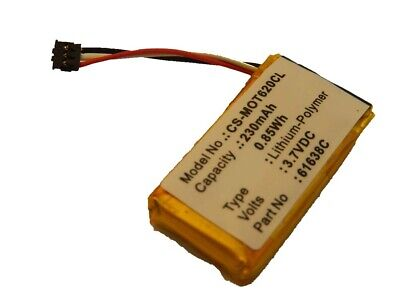 BATTERY 230mah for Motorola Dect 6.0, IT6, IT6-2, 61638C, SNN5904A