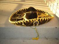 5 MEXICAN SOMBREROS/5 MEXICAN HATS/UNIQUE ITEMS