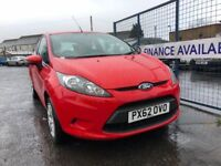 FORD FIESTA STYLE (red) 2012 Car Sales / Finance NO DEPOSIT REQUIRED Cheap Cars Swaps available