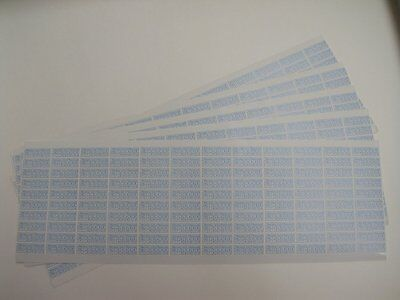 1800 Pcs Warranty Void If Damaged Security Stickers Size 0.75 Inch X 0.25 Inch