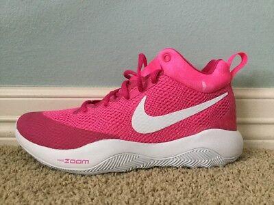 ca537977af2 Nike Zoom Hyperrev 2017 Kay Yow Size 9 Pink Cancer Fund Basketball Shoes