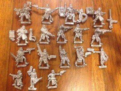 Necromunda Orlock Complete  gang  Rare Warhammer Metal OOP Games Workshop