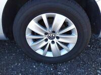 Genuine VW Sharan 7n Alloy Wheels With Michellin Tyres - 7N0601025A - 215/60/16