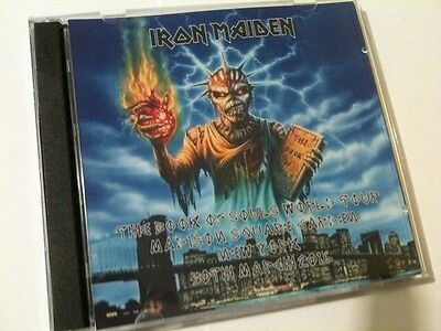 Iron Maiden Double CD Madison Square Garden N.Y USA The Book Of Souls Tour 2016