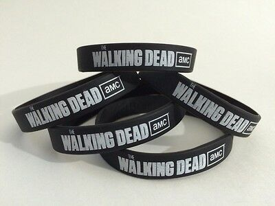 The Walking Dead AMC Silicone Rubber EcoBand Wristband Bracelet! New!
