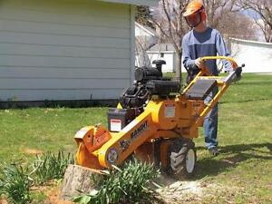 Industrial Stump Grinder For Rent - Delivered