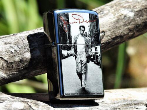 Zippo Lighter - James Dean Street - Hollywood Icon - Roy Schatt Photo - NYC