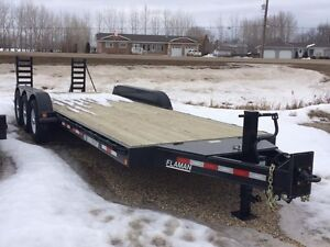 2014 Trailtech L370-24' Industrial Flatdeck Trailer